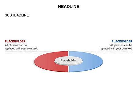 Circle Divided into Sectors Toolbox, Slide 21, 03369, Shapes — PoweredTemplate.com
