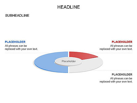 Circle Divided into Sectors Toolbox, Slide 27, 03369, Shapes — PoweredTemplate.com