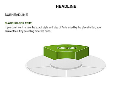 Circle Divided into Sectors Toolbox, Slide 31, 03369, Shapes — PoweredTemplate.com
