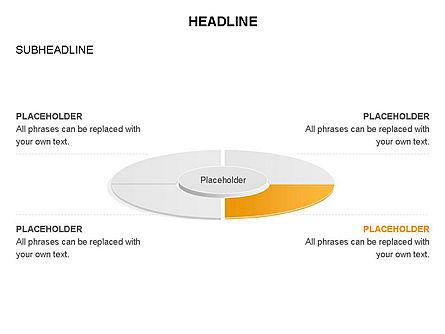 Circle Divided into Sectors Toolbox, Slide 32, 03369, Shapes — PoweredTemplate.com