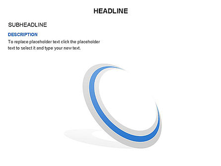 Crescent Toolbox, Slide 11, 03371, Shapes — PoweredTemplate.com