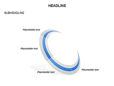 Crescent Toolbox, Slide 14, 03371, Shapes — PoweredTemplate.com