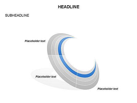Crescent Toolbox, Slide 23, 03371, Shapes — PoweredTemplate.com