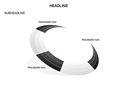 Crescent Toolbox, Slide 29, 03371, Shapes — PoweredTemplate.com