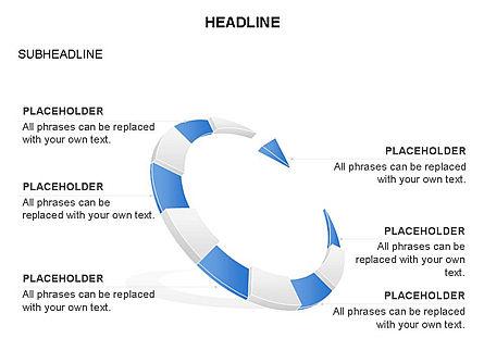 Crescent Toolbox, Slide 30, 03371, Shapes — PoweredTemplate.com