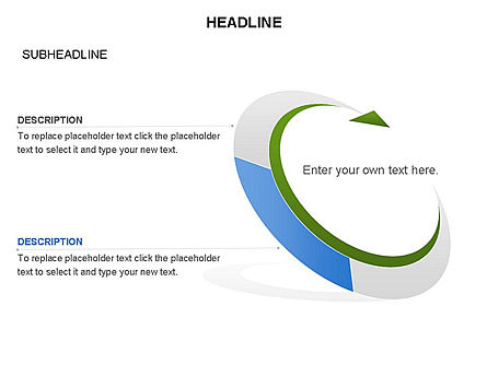 Crescent Toolbox, Slide 32, 03371, Shapes — PoweredTemplate.com