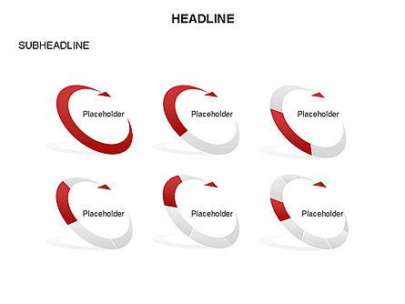 Crescent Toolbox, Slide 35, 03371, Shapes — PoweredTemplate.com
