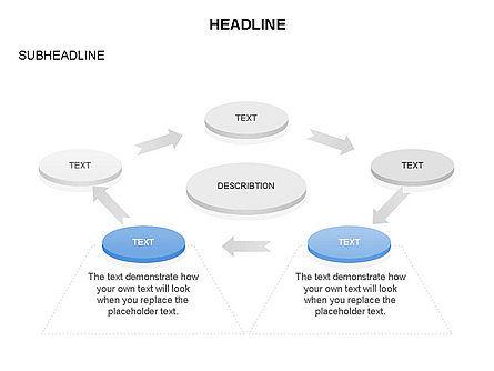 Org Chart and Process Toolbox, Slide 9, 03373, Organizational Charts — PoweredTemplate.com
