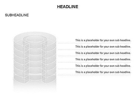 Cylinder Cross Section Toolbox, Slide 10, 03374, Shapes — PoweredTemplate.com