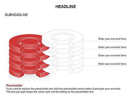 Cylinder Cross Section Toolbox, Slide 13, 03374, Shapes — PoweredTemplate.com