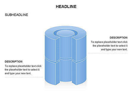 Cylinder Cross Section Toolbox, Slide 2, 03374, Shapes — PoweredTemplate.com