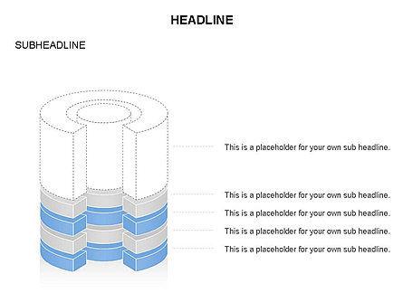 Cylinder Cross Section Toolbox, Slide 9, 03374, Shapes — PoweredTemplate.com