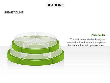 Round Stage Pyramid Toolbox, Slide 11, 03378, Pie Charts — PoweredTemplate.com