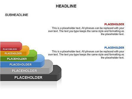 Round Stage Pyramid Toolbox, Slide 16, 03378, Pie Charts — PoweredTemplate.com