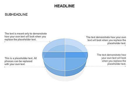 Pie Diagram Toolbox, Slide 10, 03380, Pie Charts — PoweredTemplate.com
