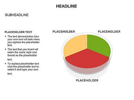 Pie Diagram Toolbox, Slide 20, 03380, Pie Charts — PoweredTemplate.com