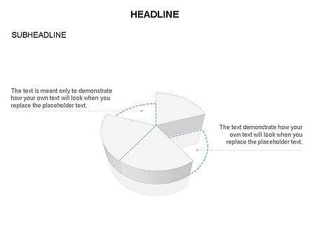 Pie Diagram Toolbox, Slide 22, 03380, Pie Charts — PoweredTemplate.com