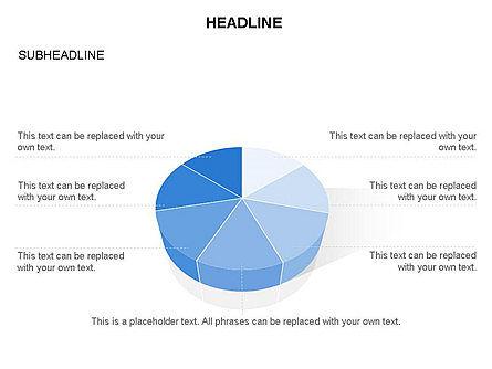Pie Diagram Toolbox, Slide 23, 03380, Pie Charts — PoweredTemplate.com