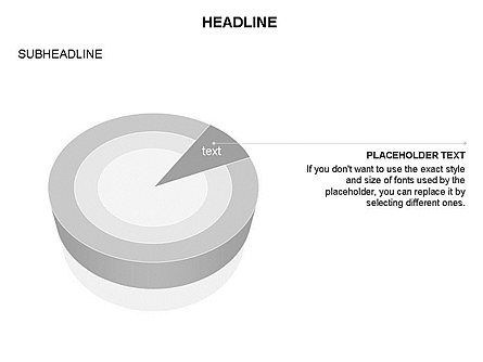 Pie Diagram Toolbox, Slide 27, 03380, Pie Charts — PoweredTemplate.com