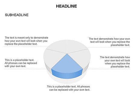 Pie Diagram Toolbox, Slide 3, 03380, Pie Charts — PoweredTemplate.com