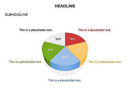 Pie Diagram Toolbox, Slide 7, 03380, Pie Charts — PoweredTemplate.com