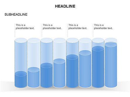 Cylinder Graph Chart Toolbox, Slide 26, 03382, Graph Charts — PoweredTemplate.com
