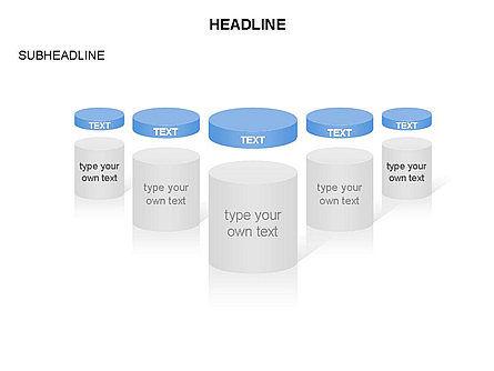 Cylinder and Platform Toolbox, Slide 11, 03383, Shapes — PoweredTemplate.com