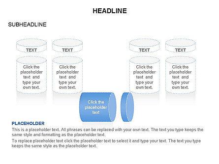 Cylinder and Platform Toolbox, Slide 12, 03383, Shapes — PoweredTemplate.com