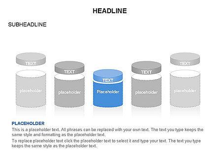 Cylinder and Platform Toolbox, Slide 13, 03383, Shapes — PoweredTemplate.com