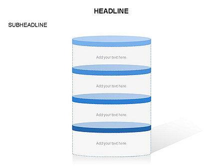 Cylinder and Platform Toolbox, Slide 18, 03383, Shapes — PoweredTemplate.com