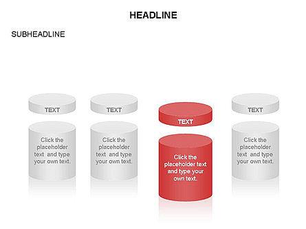 Cylinder and Platform Toolbox, Slide 2, 03383, Shapes — PoweredTemplate.com