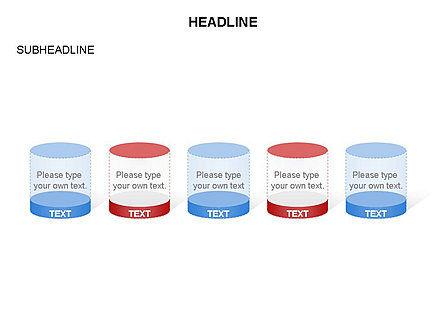 Cylinder and Platform Toolbox, Slide 8, 03383, Shapes — PoweredTemplate.com