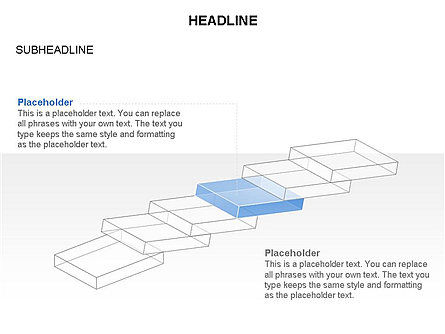 Domino Toolbox, Slide 23, 03385, Stage Diagrams — PoweredTemplate.com