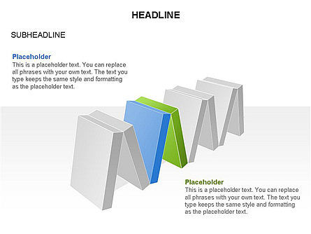 Domino Toolbox, Slide 28, 03385, Stage Diagrams — PoweredTemplate.com