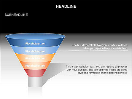 Funnel Diagram Toolbox, Slide 21, 03387, Business Models — PoweredTemplate.com