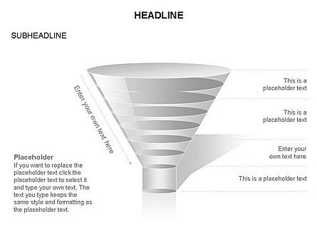 Funnel Diagram Toolbox, Slide 22, 03387, Business Models — PoweredTemplate.com
