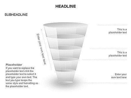 Funnel Diagram Toolbox, Slide 26, 03387, Business Models — PoweredTemplate.com
