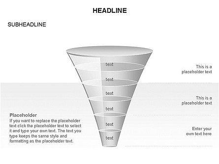 Funnel Diagram Toolbox, Slide 36, 03387, Business Models — PoweredTemplate.com