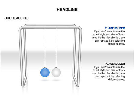 Business Models: Newtons Cradle Toolbox #03391