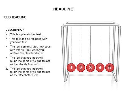 Newtons Cradle Toolbox, Slide 12, 03391, Business Models — PoweredTemplate.com