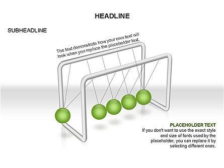 Newtons Cradle Toolbox, Slide 14, 03391, Business Models — PoweredTemplate.com