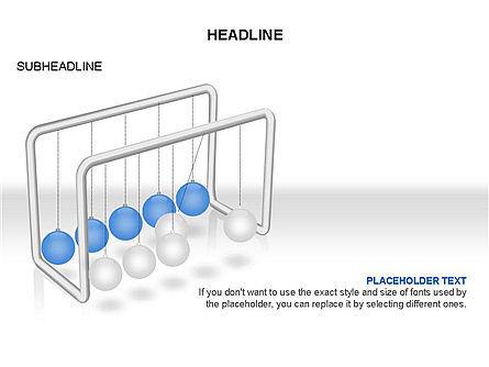 Newtons Cradle Toolbox, Slide 18, 03391, Business Models — PoweredTemplate.com