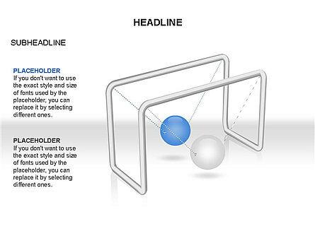 Newtons Cradle Toolbox, Slide 19, 03391, Business Models — PoweredTemplate.com
