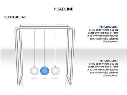 Newtons Cradle Toolbox, Slide 2, 03391, Business Models — PoweredTemplate.com