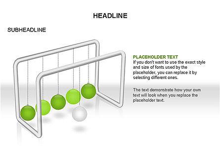 Newtons Cradle Toolbox, Slide 20, 03391, Business Models — PoweredTemplate.com