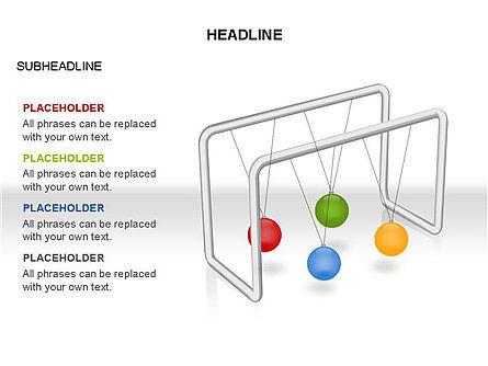 Newtons Cradle Toolbox, Slide 21, 03391, Business Models — PoweredTemplate.com