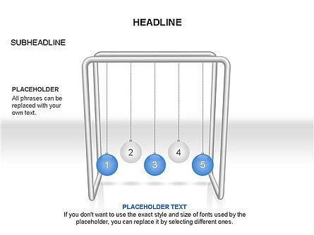 Newtons Cradle Toolbox, Slide 22, 03391, Business Models — PoweredTemplate.com