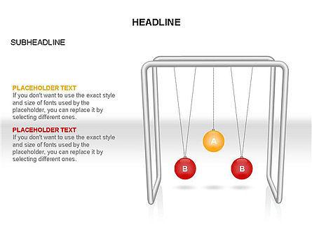 Newtons Cradle Toolbox, Slide 29, 03391, Business Models — PoweredTemplate.com