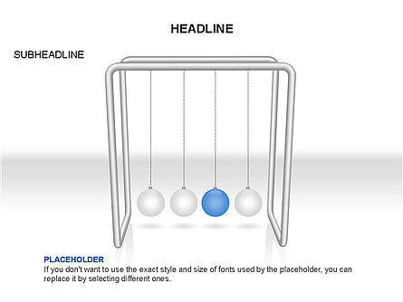 Newtons Cradle Toolbox, Slide 3, 03391, Business Models — PoweredTemplate.com