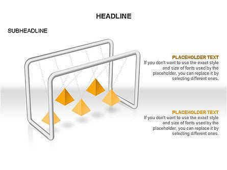 Newtons Cradle Toolbox, Slide 30, 03391, Business Models — PoweredTemplate.com